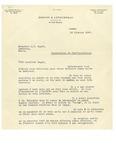 02/20/1947 Letter from Drouin & Letorneau by Oscar Drouin