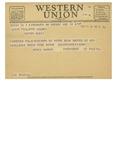 03/18/1947 Western Union Telegram