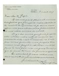 1947 Letter from Chemins de Fer Nationaux du Canada by P. E. Gingras