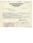 Application for Indemnity Insurance Company of North America by Indemnity Insurance Company of North America