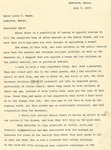 07/03/1947 Letter from a Lewiston Citizen [W.P.F]