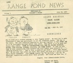 07/16/1947 Lower Range Pond News by Rolando (Ronnie) and Henry (Hank)