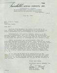 Letter from Leon T. Eliel of Fairchild Aerial Surveys, Inc.