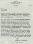 07/28/1947 Letter from the Office of the Housing Expediter by Frank R. Creedon