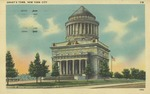 Grant's Tomb Postcard from New York City
