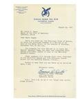 08/23/1947 Letter from Dirigo Aerie, No. 618