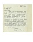 08/25/1947 Letter from Elizabeth Brooks