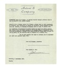 09/06/1947 Letter from Antoni & Company by Antoni & Company