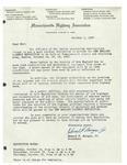 Letter from Massachusetts Highway Association
