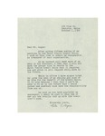 10/01/1947 Letter from Rita Bigine to Louis-Philippe Gagné