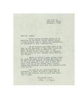 Letter from Rita Bigine