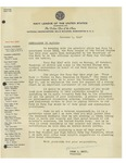 Letter from The Navy League of the United States