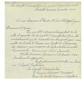 11/12/1947 Letter from La Societe l'Assomption Succursale Pommerleau #228