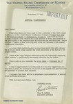 11/17/1947 Letter from the United States Conference of Mayors