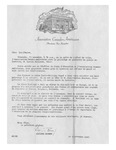 11/17/1947 Letter from l'Association Canado-Américaine