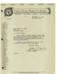 12/17/1947 Letter from the State of Maine Publicity Bureau