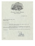 12/19/1947 Letter from l'Association Canado-Américaine by Wilfrid J. Mathieu