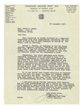12/30/1947 Letter from V.F.W. Normand Dionne Post 2299