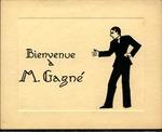 Bienvenue à M. Gagné [Card] by Louis-Philippe Gagné