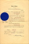 1944 Notary Public Certificate by State of Maine