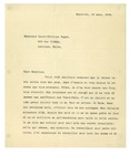 03/23/1938 Letter from Montreal by Unknown