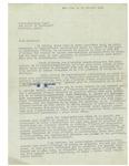 02/16/1939 Letter from la Commission Nationale Haitienne de Coopération Intellectuelle by Antoine Bervin