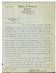 03/17/1936 Letter from Elphège J. Daignault