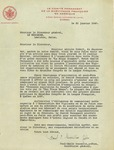 01/30/1940 Letter from Paul-Emile Gosselin