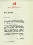 Letter from Thomas Bertrand, Société S. Jean Baptiste de Montréal by Thomas Bertrand