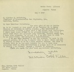 05/02/1940 Letter from Marion Cobb Fuller to Olivier V. Pelletier by Marion Cobb Fuller