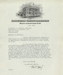 05/06/1940 Letter from the Association-Canado-Américaine to Oliver V. Pelletier by Adolphe Robert