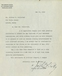 05/10/1940 Letter from Joseph Edward McCarthy to Oliver V. Pelletier by Joseph Edward McCarthy