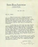 05/25/1944 Letter from United Press Associations by Ralph [Harrigan]