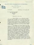 Letter from Sociéte Saint-Jean-Baptiste De Montréal