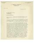 12/23/1943 Letter from La Société l'Assomption by C. F. Savoie
