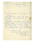 11/17/1940 Letter from Mr. and Mrs. Ronaldo LeClair by Ronaldo LeClair