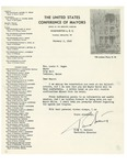 Letter from The U.S. Conference of Mayors by Paul V. Betters