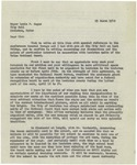 03/29/1948 Letter from Brigadier General George M. Carter by George M. Carter