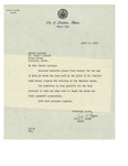 04/02/1948 Letter to St. Peter's School, Lewiston, Maine by Louis-Philippe Gagné