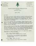 04/08/1948 Letter from the Maine Good Roads Association by Maine Good Roads Association