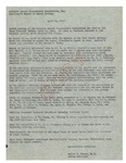 04/14/1948 Lewiston Auburn Tuberculosis Association, Inc., Annual Meeting Minutes by Guilda M. Albert