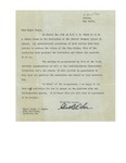 05/10/1948 Public Forum Letter
