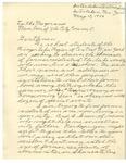 05/10/1948 Letter from Interlaken Central School by Richard McBride