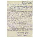 05/10/1948 Letter from The Ramblers Rollerskating Club by Jane Cyr Pratt