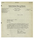 05/18/1948 Letter from the Textile Workers Union of America