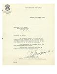 05/19/1948 Letter from Comité des aciens de l'Université Laval