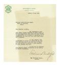 05/20/1948 Letter from l'Université Laval