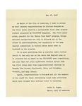 05/27/1948 Letter from Louis-Philippe Gagné to WLAM by Louis-Philippe Gagné