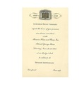 Lewiston Trust Company 50th Anniversary Invitation