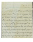Letter to Louis-Philippe Gagné by Annie